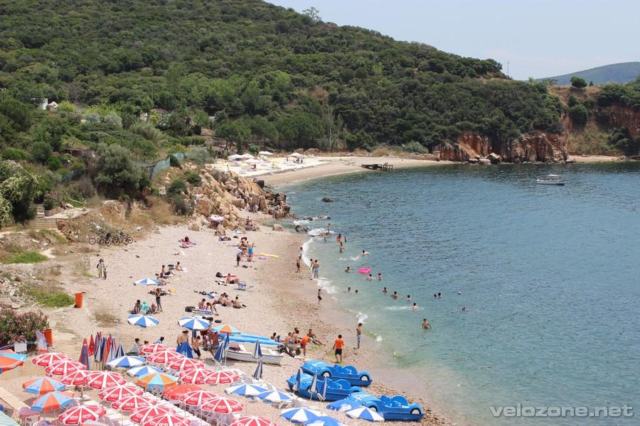 Plaża na Kinaliadzie