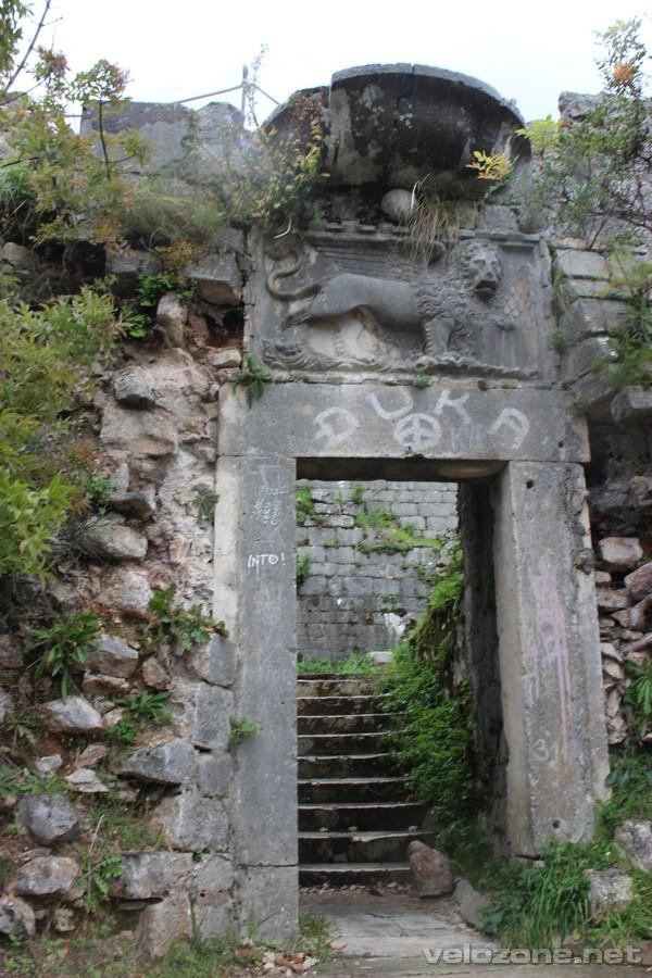 Wenecki lew na murach Kotoru