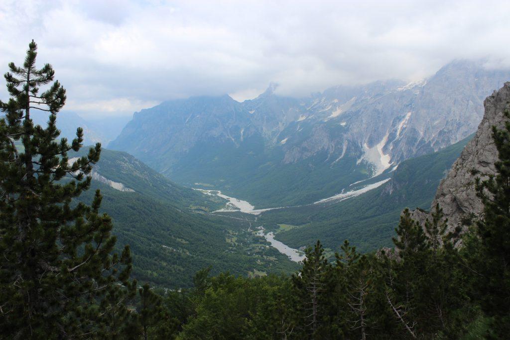 Dolina Valbone przed nami