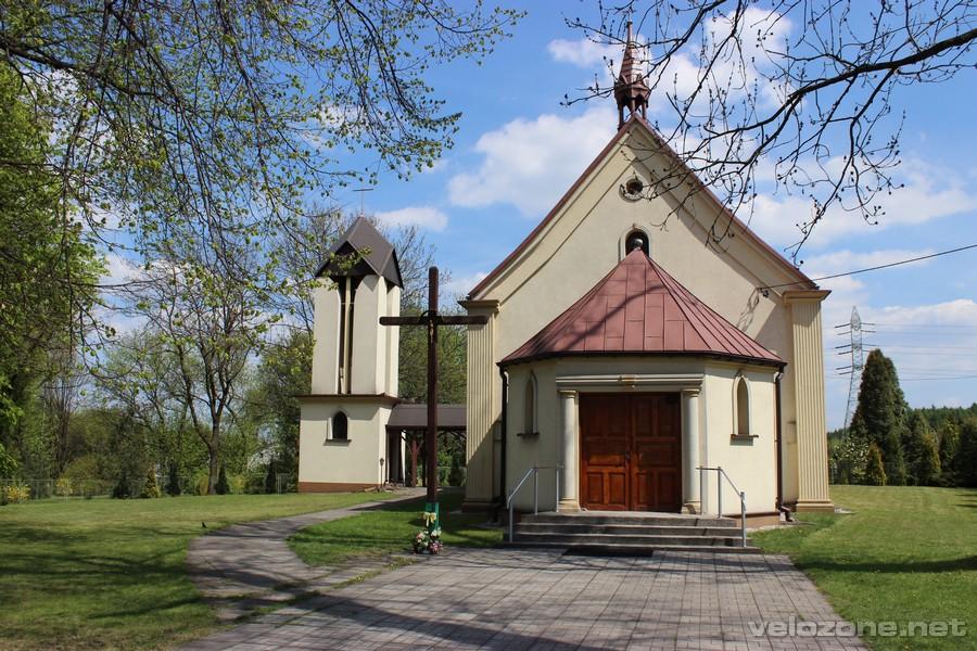 Kościół pw. Podwyższenia Krzyża św w Łośniu.
