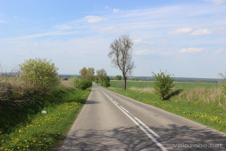 Droga łącząca Trzebiesławice z Siewierzem